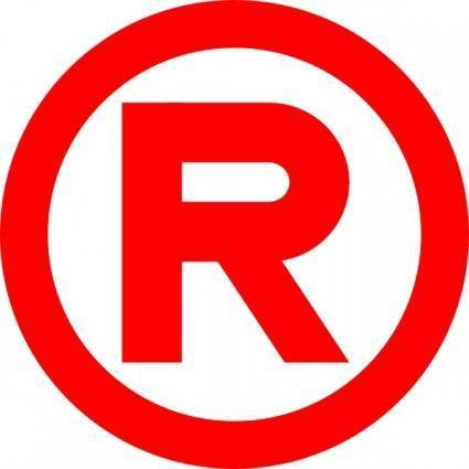 Red Trademark clip art