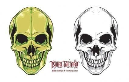 free vector Free skull vector