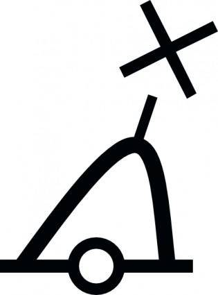 International Conical Buoy clip art
