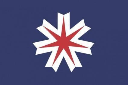 Flag Of Hokkaido clip art
