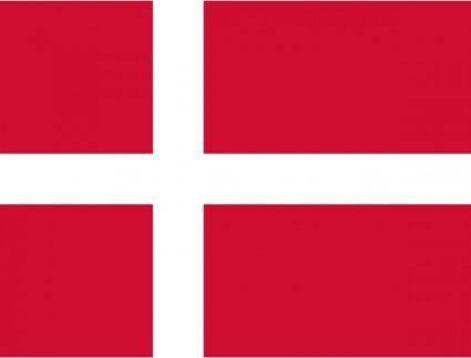 free vector Flag Of Danmark clip art