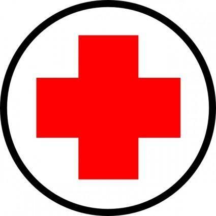 Cruz Roja clip art