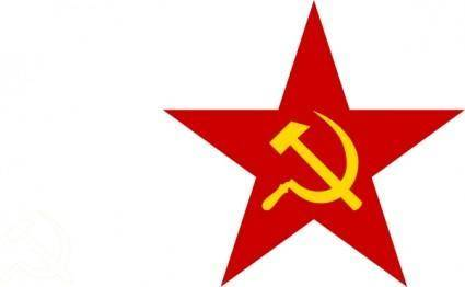 free vector Communist Star clip art