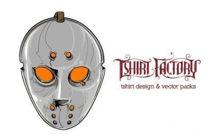 free vector Hockey Mask