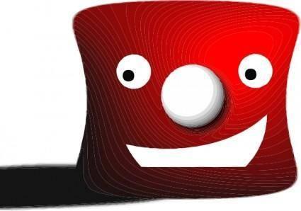 Red Puppet clip art