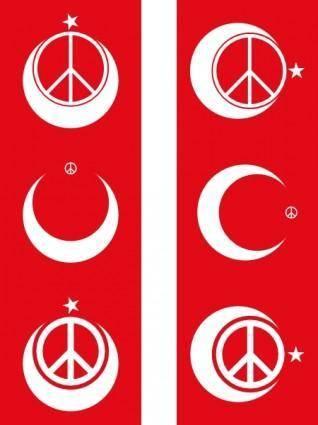 free vector Turkish Peace clip art