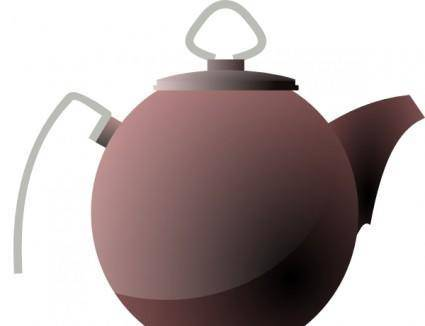 Kettle Or Tea Pot clip art