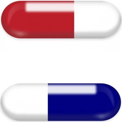 free vector Pills clip art