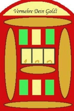free vector Slot Machine clip art