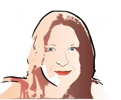 free vector Rosa clip art