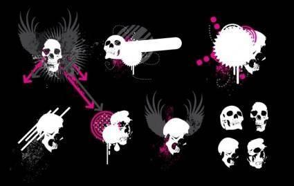 free vector Free Skull Vectors