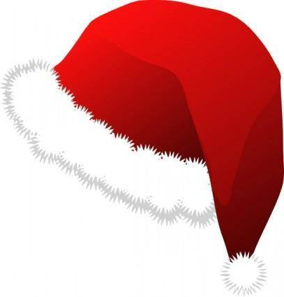 free vector Santa Claus Hat clip art