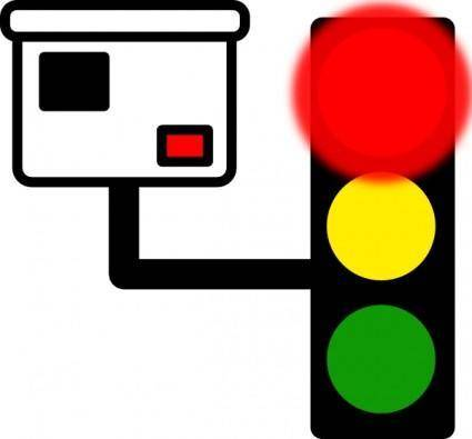 Red Light Camera clip art