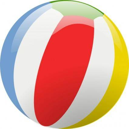 free vector Beach Ball clip art