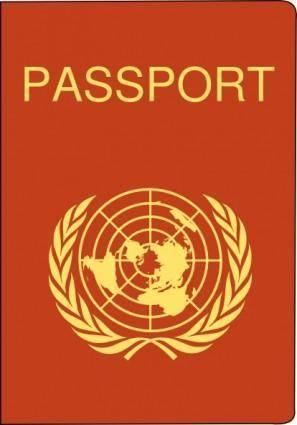 free vector Passport clip art