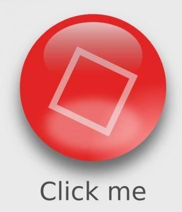 free vector Yyycatch Aqua Botton Circle Red clip art