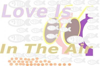 Iglooo E Card Love Is In The Air Red Sea Skin Diving Aug clip art
