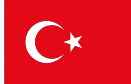 Flag Of Turkey clip art