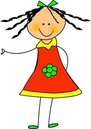 Little Doll clip art