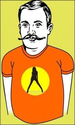 free vector Fashion T Shirt clip art