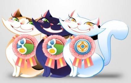 free vector Social Cat
