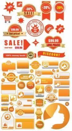 free vector Shopping tag vector