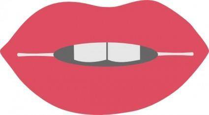 free vector Lips clip art