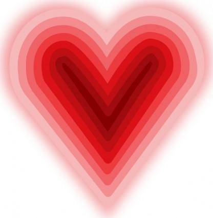 free vector Heart With Deep clip art