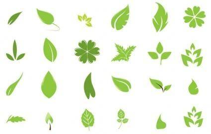free vector Going Green with Leaves