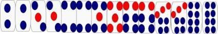 Dominoes Game clip art