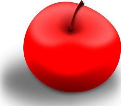 free vector Valessiobrito Apple Red clip art