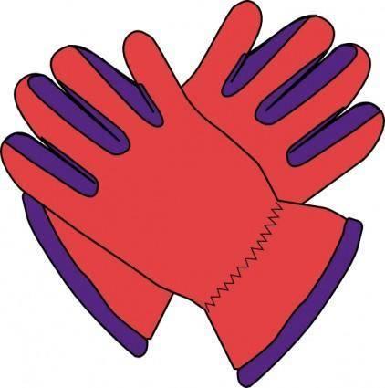 free vector Gloves clip art