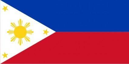 Philippines Flag clip art
