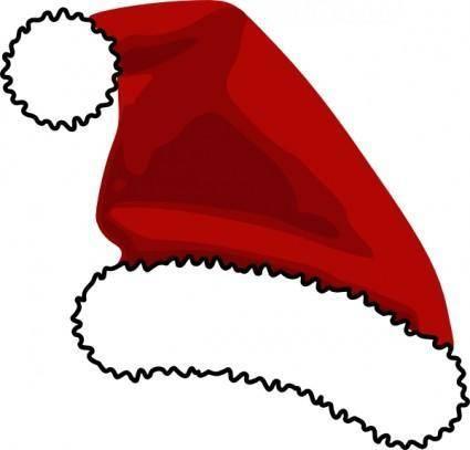 Santa Cap clip art