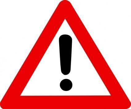 Warning Sign clip art