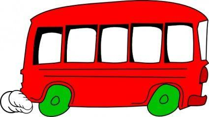 School Bus Vehicle clip art