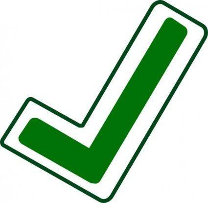 Apply Checkmark clip art