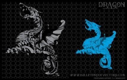 free vector Dragon Illustration