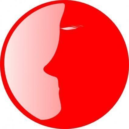 Redhead clip art