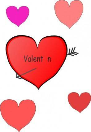 free vector Valentine clip art