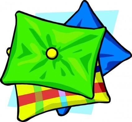 free vector Pillows clip art
