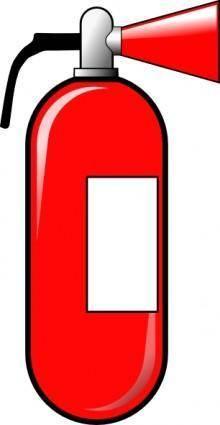 free vector Fire Extinguisher clip art