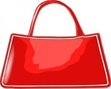 Handbag clip art