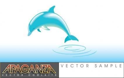 free vector Dolphin Vector