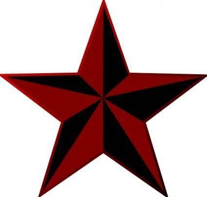 Punkstar clip art