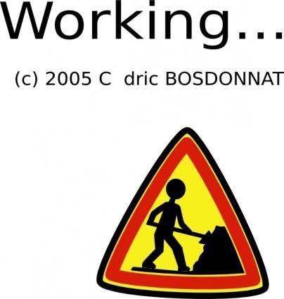 free vector Under Construction clip art