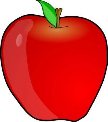 free vector Another Apple clip art