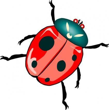 free vector Lady Bug clip art