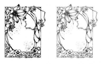 free vector Sketchy Frames