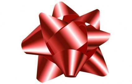 free vector Big Red Bow